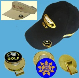 golf hatclips