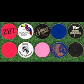 Metal markers, Golf Outing Gift